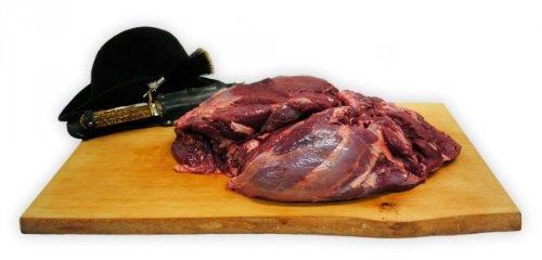 Wildschweinkeule ohne Knochen Gewicht 3,35kg