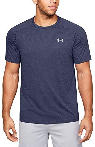 Under Armour Men's Tech 2.0 Novelty Short-Sleeve T-Shirt, Blue Ink (497)/Mod Gray, Medium