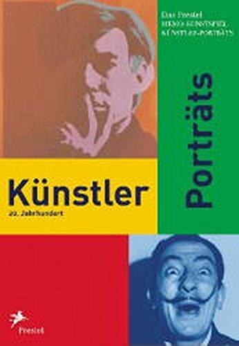 Prestel Memo-Kunstspiel Künstler-Porträts 20 Jahrhundert Mit einem informativen Bildführer
