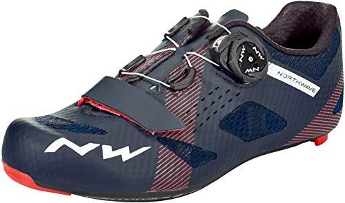 Northwave Storm Carbon 2020 - Zapatillas de ciclismo (talla 42,5), color azul