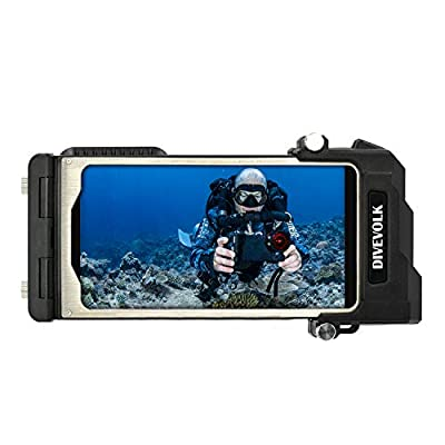 DIVEVOLK Button Free Underwater Real Touchscreen for iPhone Diving housing case by DIVEVOLK DIVING ASSIST