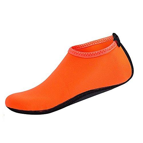 Hombre Mujer Zapatos de Agua Deportivos Calcetines de Buceo Piel de Secado Rápido Descalzo Zapatos de Agua