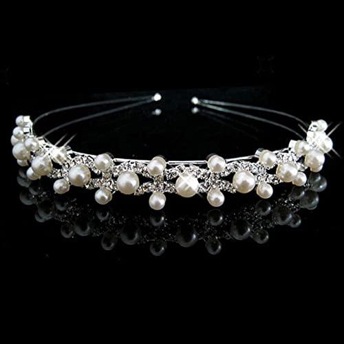 Pinzas para el cabello Princesa Crystal Tiaras y coronas Diadema Niños Niñas Corona nupcial Accesorios para banquetes de boda Joyas para el cabello Tocado