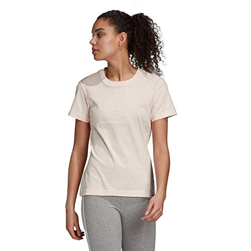 adidas W BB T Camiseta, Mujer, matros, M