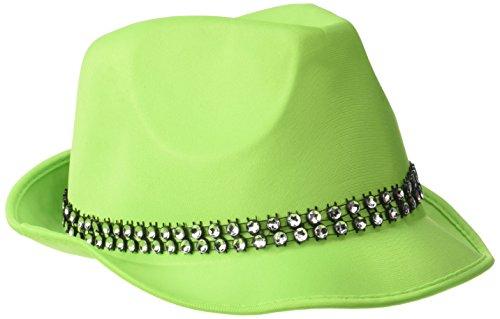 Rire Et Confetti - Fiedis076 - Accessoire pour Déguisement - Chapeau Fun Vert
