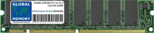 GLOBAL MEMORY 256MB PC133 133MHz 168-PIN SDRAM DIMM Memoria RAM para Yamaha...