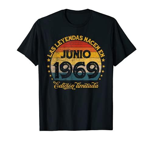 Las Leyendas Nacen En Junio 1969 51 años Cumpleaños Camiseta