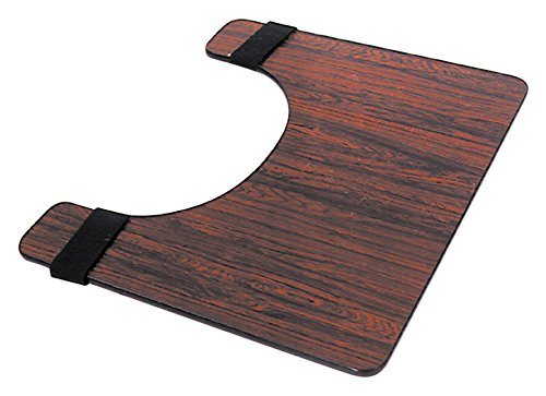 Essential Medical Supply Deluxe Rosewood Tray