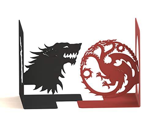 Suporte Aparador de Livros CDs DVDs Game of Thrones Peculiartes