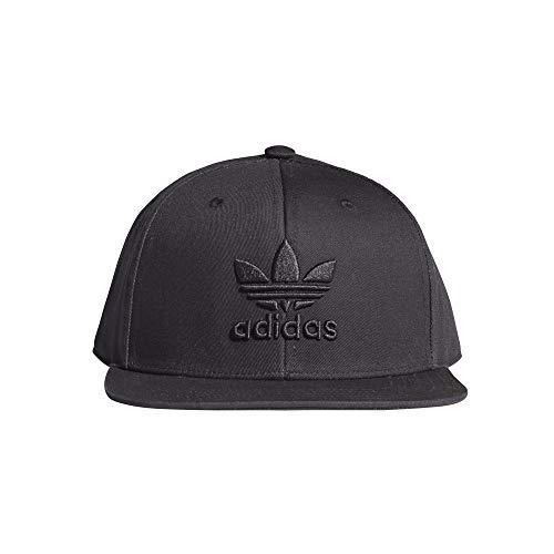 adidas Herren Kappe Snapback Trefoil, Black/Black, OSFM, GD4439