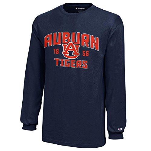 NCAA Champion Boy's Long Sleeve Jersey T-Shirt Auburn Tigers Medium