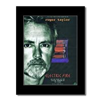 QUEEN - Roger Taylor - Electric Fire Mini Poster - 28.5x21cm