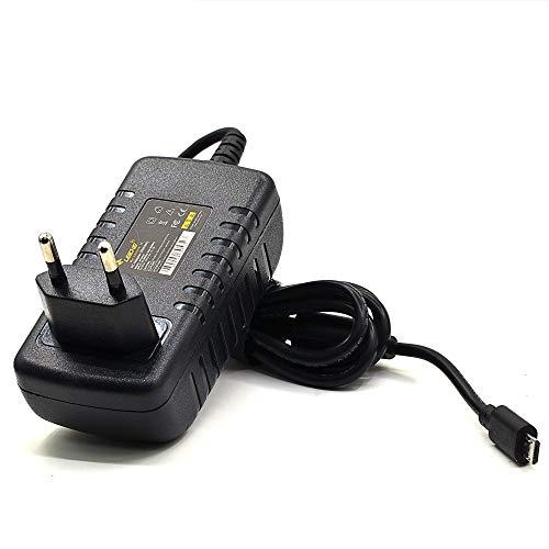 LEICKE Alimentatore Universale Micro USB, Uscita 12,5W, 5V, 2,5A compatibile con Raspberry Pi Modell A e B & Banana, Pi 2 Model B/Pi Xero e Pi 3, Pi - Pi Model B+ (B Plus), Micro USB