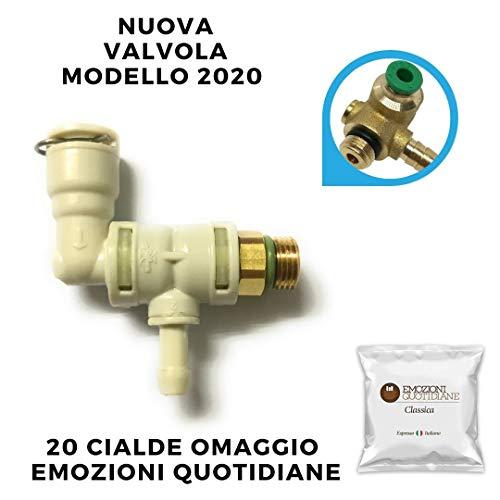 RICAMBIO Valvola a 3vie Faber RC01 PER MACCHINA CAFFE\' FABER SLOT + 20 Cialde EMOZIONI QUOTIDIANE CAFFE