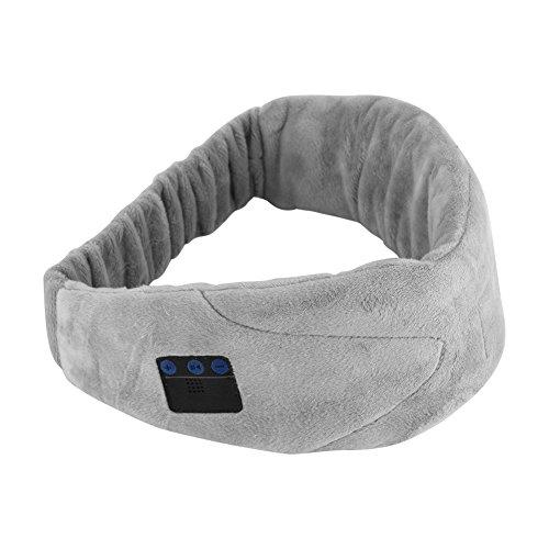 Fosa hoofdband, Bluetooth, slaaphoofdtelefoon, ogen, masker met in-ear hoofdtelefoon, ruisonderdrukking, geïntegreerde microfoon, wasbaar, ideaal voor slapen en uitrusten