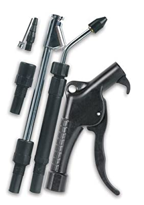 Legacy Blow Gun with 360 degree Rotating, Adjustable Length Telescoping Extension