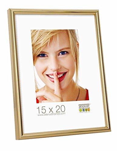 Deknudt Frames S011A4 Cadre Photo Résine Doré 50 x 70 cm