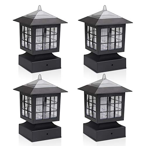 10 Best Rated Solar Powered Deck Lights - Top Reviews 3