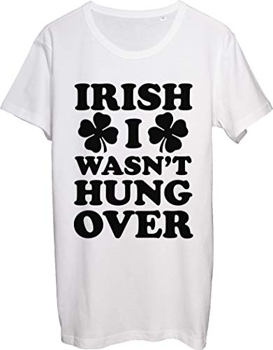 Irish I was Hungover Yesterday I Drunk Too Much - Camiseta para hombre
