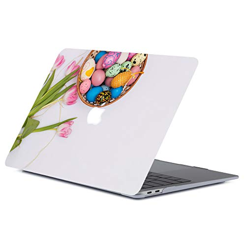 ACJYX MacBook Pro 13 inch Case 2012 2011 2010 2009 2008 Release A1278, Plastic Hard Shell Cover Laptop Case for MacBook Pro 13' with CD-ROM, Flower Pattern