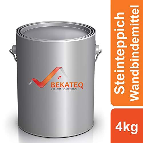 BEKATEQ 1K PU Steinteppich Bindemittel BK-633PU für Wand Treppe Sockel - farblos - 4kg