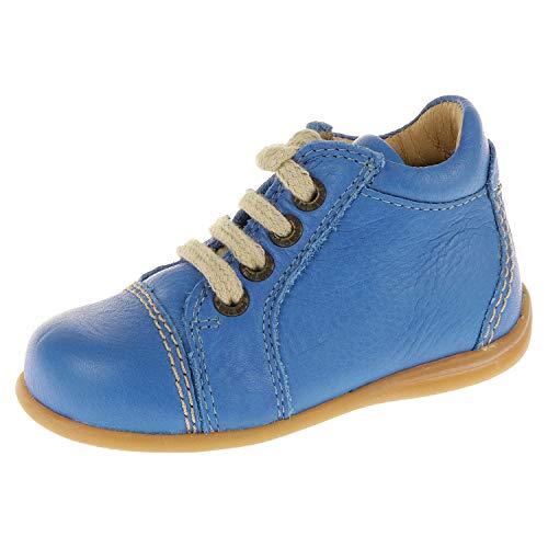 pom pom Baby Schuhe für Jungen Halbschuh Schnürschuh Ducados Blau 15206808 (20 EU)