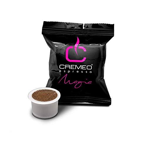 Cremeo Capsule Compatibili Aroma Vero, Fior Fiore Coop, Lui L'Espresso, Martello, Mitaca - Confezione Da 100 Pezzi - Miscela Magia - 650 g