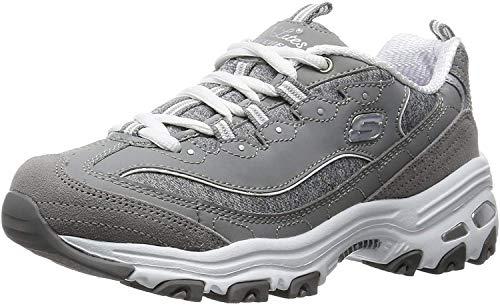 Skechers Sport D'Lites Me Time Lace-Up Athletic Shoe Women's...