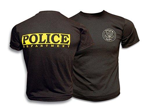 M. Albainox–Maglietta Maniche Corte Police. Negra, XL