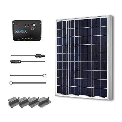 Renogy 100 Watts 12 Volts Polycrystalline Solar Starter Kit w/ 100w solar...