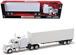 New Ray Kenworth W900 Plain White Unmarked 1/43 15843
