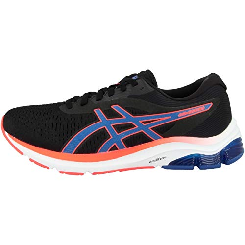 ASICS Gel-Pulse 12, Zapatillas de Running Hombre, Black Directoire Blue, 42 EU