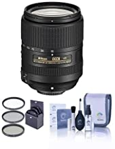 Nikon 18-300mm f/3.5-6.3G ED IF AF-S DX NIKKOR VR Lens - U.S.A. Warranty - Bundle with 67mm Filter Kit, Cleaning Kit