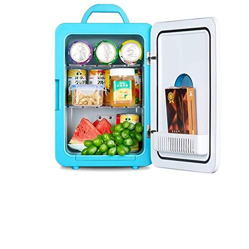 AYDQC Refrigerador de automóvil Mini refrigerador refrigerador y Calentamiento Dormitorio Pequeño Nevera congelador Door Reversible -C 23.5x27x33.5cm (9x11x13) fengong