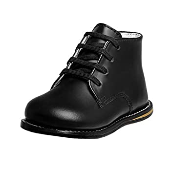 Josmo Baby Unisex Walking Shoes First Walker Baby First Walker Shoes Black