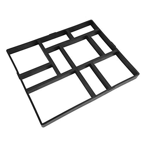 Doe-het-zelf bakvorm, remmend inzetstukken, geplastikt, kunststof, medium, beton, stenen springplank, voor knutselen, allee, tuin Modèle 2: 60x50x5cm
