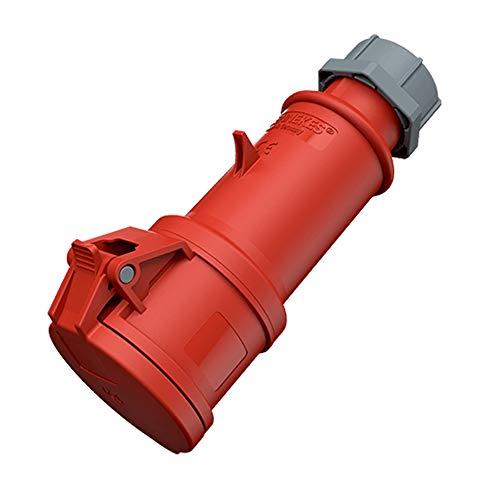 Mennekes Pro Top Steckdose Kupplung 240/415V 50 – 60 Hz 32A 5-Polig IP44 Schutzgrad Rot