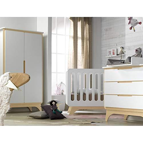 Alfred & Compagnie Babyzimmer komplett weiß/Birke