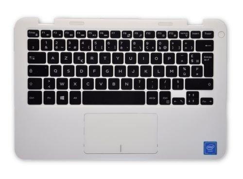 Dell Inspiron 11 3000 Series (3162) weiße Handauflage mit französischer Tastatur RV8J2 33P9C