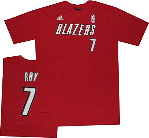 Portland Trail Blazers Adidas T Shirt de impresión de Red de Jóvenes de Brandon Roy, Rojo