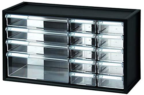 livinbox 14 Schubladen Schubladenschrank Schubladenbox Werkzeugschrank Organizer auf dem Tisch...