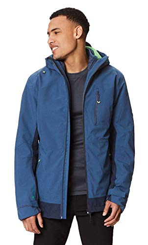 Regatta Herren Wentwood III 3 in 1 Waterproof and Breathable with Zip-Out Fleece Jacke, Dark Denim, m