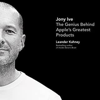 Jony Ive audiobook cover art