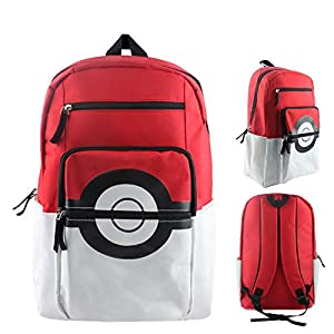 41VqFy42t1L. SS300  - WCDP Pokemon Pokeball Mochila Pikachu Mochila Escolar