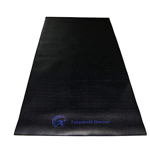 Treadmill Doctor Regular Treadmill Mat for Home Fitness Equipment - 3' X 6.6'