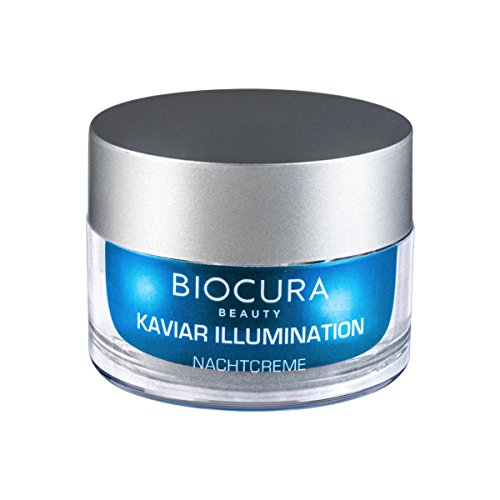 Biocura Beauty Kaviar Illumination Nachtcreme Luxuriose Spezialpflege 50 ml