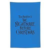 Nightmare Before Christmas タペストリー壁掛けリビングルーム寝室寮部屋家の装飾ポスター