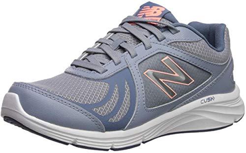 New Balance Women's 496 V3 Walking Shoe, Reflection/Bleached Sunrise/Deep Porcelain Blue, 10.5 N US