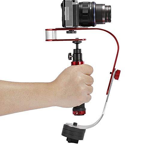 Hamkaw Stabilisateur Manuel pour Cardan, Support De Caméra Vidéo Portable pour GoPro, Smartphone, Canon, Nikon Ou...
