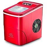 Máquina de Gelo Multilaser 220V 2 Litros 100W Vermelha - HO070